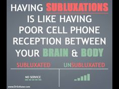Does your brain communicate with your body properly? Get checked by a #chiropractor today!  www.swannchiropractic.com 423-893-3300