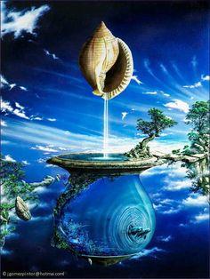 "J. Gomez - ""Fonte Suspensa"" (Ahh, so mermaidian!)"