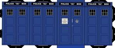 Make Your Own Paper TARDIS