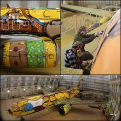Les Boeing 737 de l'équipe du Brésil est une véritable oeuvre d'art