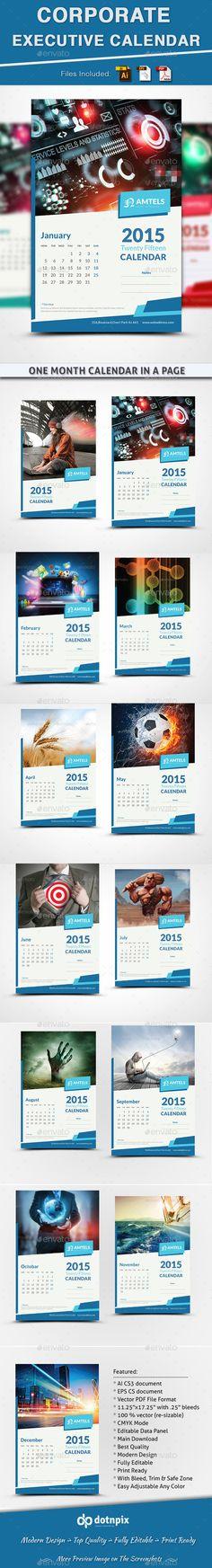 Corporate Executive Calendar