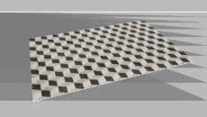 Model of Natuzzi Cube Corda-Antracite Rug -