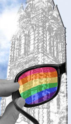 Through Rainbow Coloured Glasses