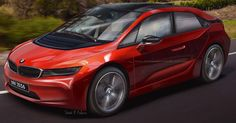 Revealing BMW i5 Patent Images Spawn Realistic Rendering #BMW #BMW_i5