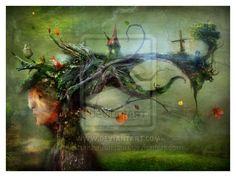 Mossy Stub by AlexanderJansson (print image)