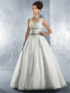 Not like I could EVER afford this, but it is GORGEOUS! Alfred Angelo Wedding Dress ADW016