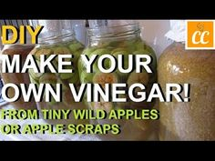 DIY | Make Your Own Vinegar From Scraps | Recipe Organic Vinegar, Turmeric Paste, Make Your Own, Make It Yourself, Cooking Sauces, Silicone Baking Mat, Fermented Foods, Apple Cider Vinegar, Apple Recipes
