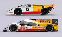 Le Mans racers 1970 and 2015