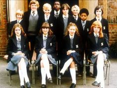 UK: Grange Hill popular BBC 1 children's programme.