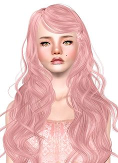 Newsea`s Sparkle Sky hairstyle retextured by Jas for Sims 3 - Sims Hairs - http://simshairs.com/newseas-sparkle-sky-hairstyle-retextured-by-jas/