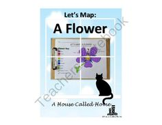 Lets Map: A Flower from A House Called Home on TeachersNotebook.com -  (8 pages)  - A great way to learn the parts of a flower!