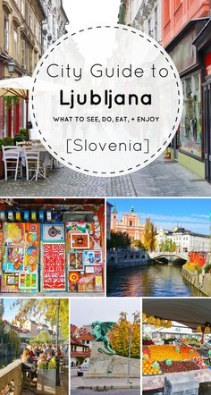 Looking for the best things to do in Ljubljana Slovenia? I've got you covered. From castles and city views to markets and arts, this little city is sure to entice any European vacation lover. Check out this city guide to Ljubljana (with loads of day trip ideas) before your next visit to Slovenia!