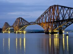 Firth of Forth - Scotland  I'm a little bit of a bridge nerd. This is my favorite bridge in the world.