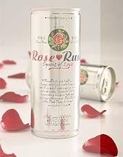 T.G. Kiat & Co (Pte) Ltd. (Singapore) - Beverages flavored with Rose Flower Essence:  RoseRush (non-carbonated), Sparkling RoseRush, and RoseRush Lemonade