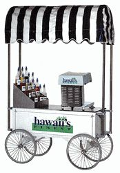 """Shaved Ice - Snow Cone Wagon 48"""" - 2129HF - Click to enlarge Popcorn Shop, Concession Food, Snow Cone Machine, Sno Cones, Coffee Carts, Food Stands, Summer Drinks, Shave Ice, Shaving"""