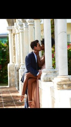 Gorgeous interracial couple engagement photography in the Bahamas Couple Style, Couple Goals, Cute Couples Goals, Dope Couples, Interracial Couples, Interracial Wedding, Couple Biracial, Interacial Love, Natural Hair Art