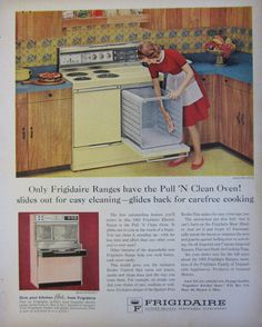 1962 Frigidaire Range Vintage Advertisement Kitchen Wall Art Appliance Decor Original Magazine Print Ad Oven Stove Paper Ephemera