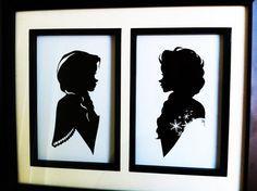 Elsa and Anna design