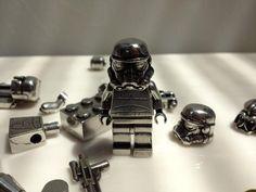 Pewter Metal Star Wars LEGO Minifigure Replica