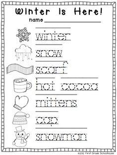 winter writing for kindergarten kindergarten writing activities kindergarten writing and. Black Bedroom Furniture Sets. Home Design Ideas