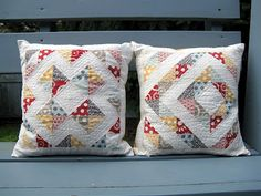Like the matching but different style of these pillows