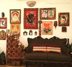 Indian Wall Decor Ideas