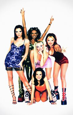 My heroes growing up / Spice Girls / girl power! Spice Girls Costumes, Spice Girls Outfits, Halloween Costumes For Girls, Girl Costumes, 2000s Fashion, Fashion Outfits, Hollywood Fashion, 90s Grunge Hair, 1990s Grunge