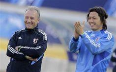 Mr. Zaccheroni and Yatto san