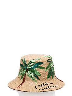 ef4693c8db8 i need a vacation cloche hat Raffia Hat