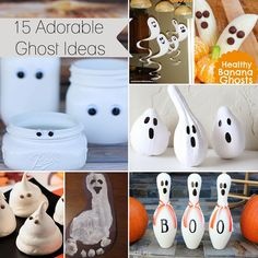 15 Ghostly Ideas...Mwahhhhaaaa