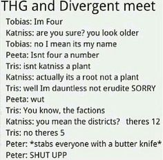 Divergent vs The Hunger Games♡