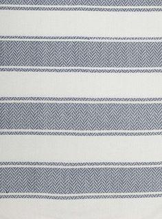 Navy Essentials Stripe Throw