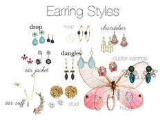 """""""Earring Styles"""" by graciepups ❤ liked on Polyvore featuring мода, Melissa Odabash, H.AZEEM, Ariel Gordon, Vince Camuto, Alexis Bittar, Karen Kane, 1928, Pomellato и Bling Jewelry"""