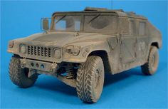 M1025 Humvee 1/35 Scale Model