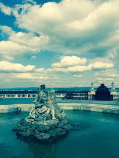 Nice Maria Theresia, Tower Bridge, Statue Of Liberty, Nice, Travel, Terrace, Fountain, Baroque, Lawn And Garden