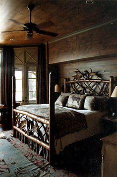 Adirondack Retreat House 08  Bedroom by Spitzmiller & Norris, Inc.
