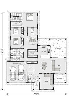 Parkview 290, 4b + study plus massive butlers pantry GJ Gardner Homes