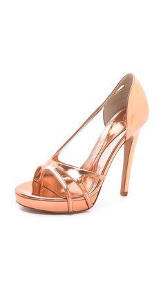 McQ - Alexander McQueen Bare Strappy Sandals BANANAS!!!