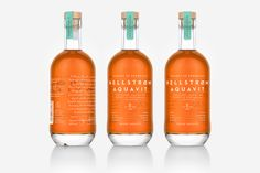 Hellstrøm Aquavit Packaging by OlssønBarbieri  http://mindsparklemag.com/design/hellstroem-aquavit-packaging/