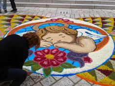 Maria Chiara Caruso #infioratainternazionale2014  Infiorata 2013 in Piazza Roma a Cusano Mutri (BN)