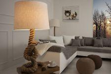 Stehlampe Taulampe Tau 160cm beige natur Maritim Design Stehleuchte
