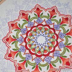 Remember that Embroidered Kaleidoscope? – NeedlenThread.com
