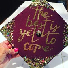 The future is now, and there's no better way to sign off from your school than with a final farewell no one will forget. Deck out your graduation cap with graduation outfits 43 DIY Graduation Cap Ideas That Will Majorly Inspire You Quotes For Graduation Caps, Graduation Cap Designs, Graduation Cap Decoration, Graduation Diy, Graduation Pictures, Graduation Outfits, Funny Grad Cap Ideas, Graduation Photography, Cap Decorations