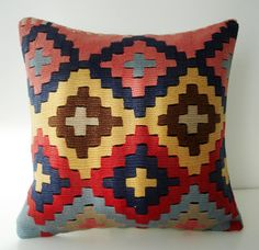 Turkish Kilim Pillow Cover