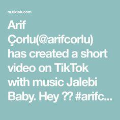 Arif Çorlu(@arifcorlu) has created a short video on TikTok with music Jalebi Baby. Hey 😂😅 #arifcorlu #powerAwesome #trend #fyp #tiktok Word Out, Techno, The Originals, Words, Mortal Kombat, A & R, Hisoka, Film, Random