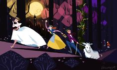 """Once Upon A Blog...: """"Into the Woods"""" Movie: Disney's Official Character/Cast List & Descriptions (Released today)"""
