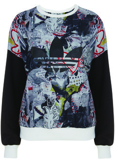 Topshop x Adidas collaboration crewneck sweater