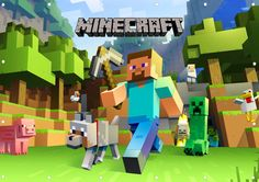 Minecraft Poster Print Borderless Many Sizes Stunning Vibrant A2 A3 A4 | eBay
