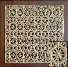 Caning - Honeycomb Pattern