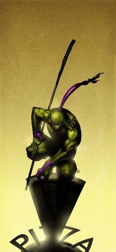 Donatello TMNT by ~16siddhartha Coolest Ninja Turtles